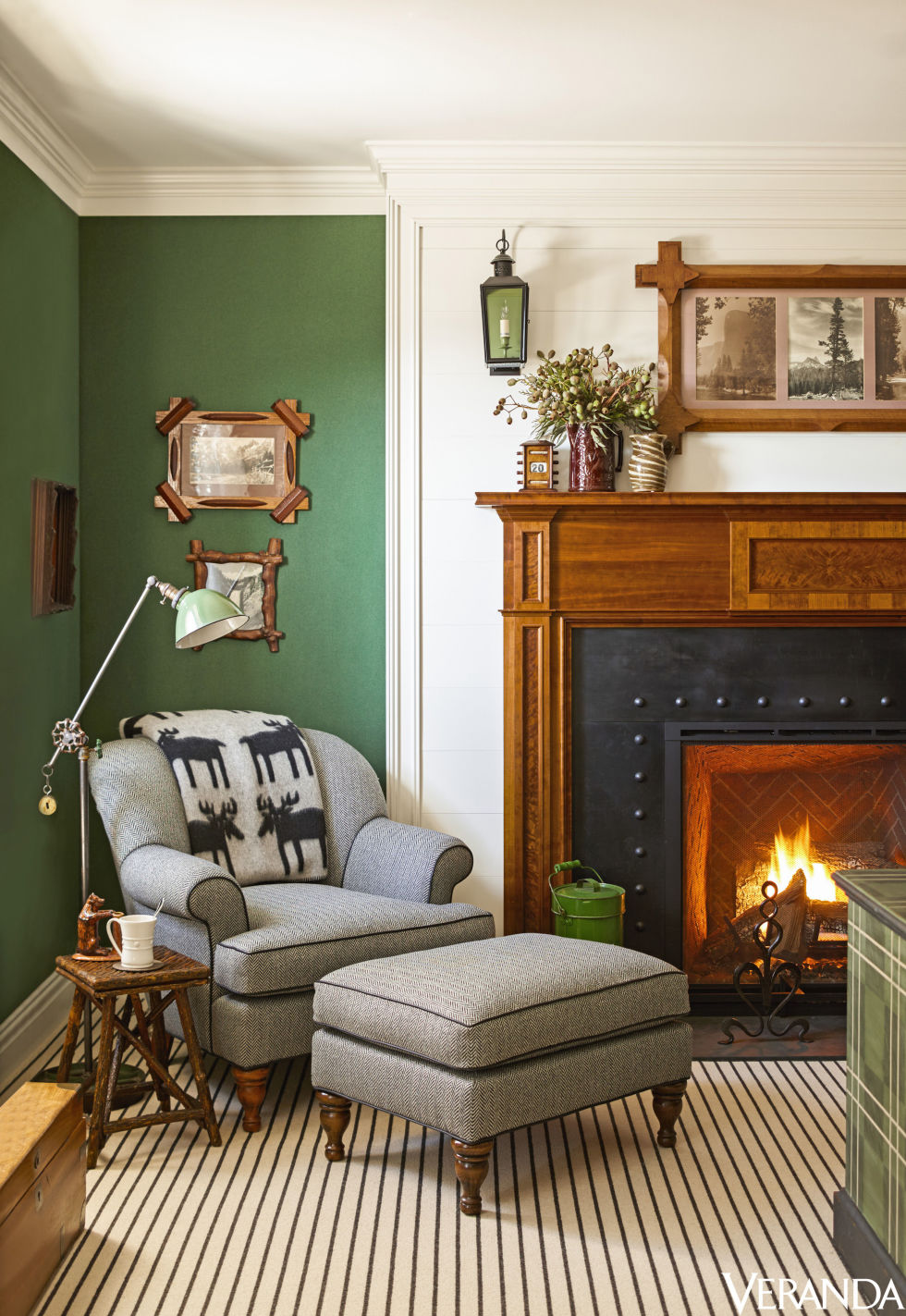 a cozy plaid inspired mountain home by anthony baratta the