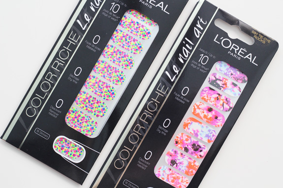 Sticker Le Nail Art Color Riche L Oréal