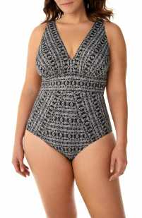 plus size swim suit available on nordstrom