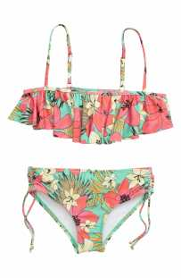 BILLABONG Aloha Sun Flutter Two-Piece Swimsuit, Main, color, MO-MINT