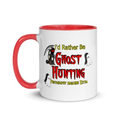 Ghost Hunting Mug - I'd Rather Be Ghost Hunting