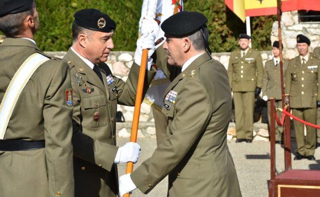 """Relevo en el mando del Regimiento Acorazado """"Córdoba"""" 10"""