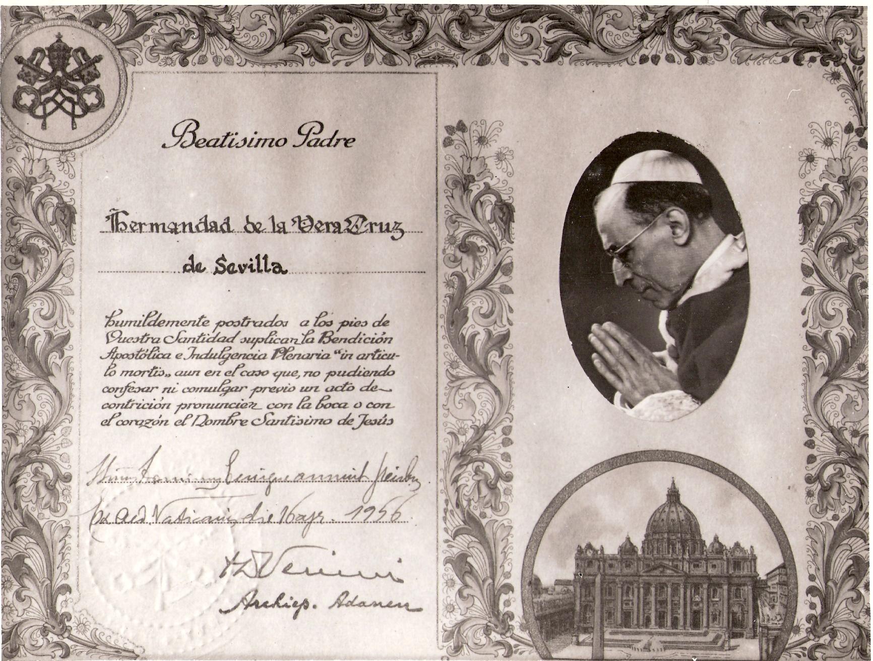 """Matrimonio In Articulo Mortis : Bendición apostólica e indulgencia plenaria """"in articulo"""