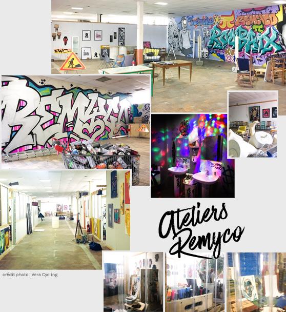 Ateliers Remyco street art à Roubaix