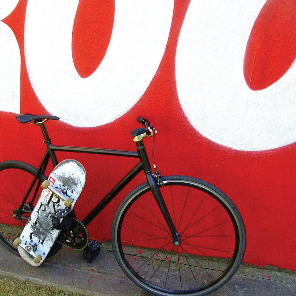 Skate vélo Roobey Vera Street Art