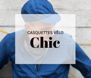 Casquettes vélo Chic