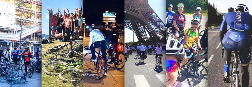 Groupes de sorties vélo Paris et province