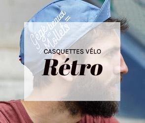 Casquettes vélo Rétro