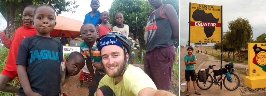 Le Pedalistan en Afrique