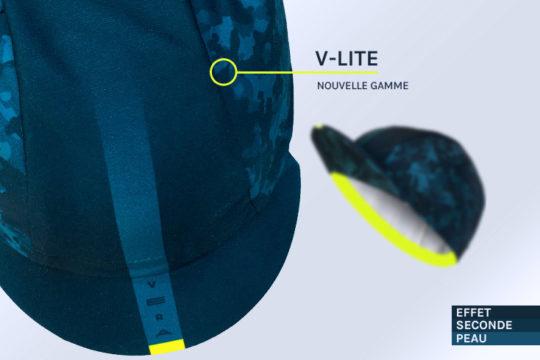 Casquette vélo ultra-légère V-LITE LYCHEN