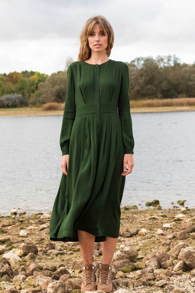 SKFK - haizea dress in green