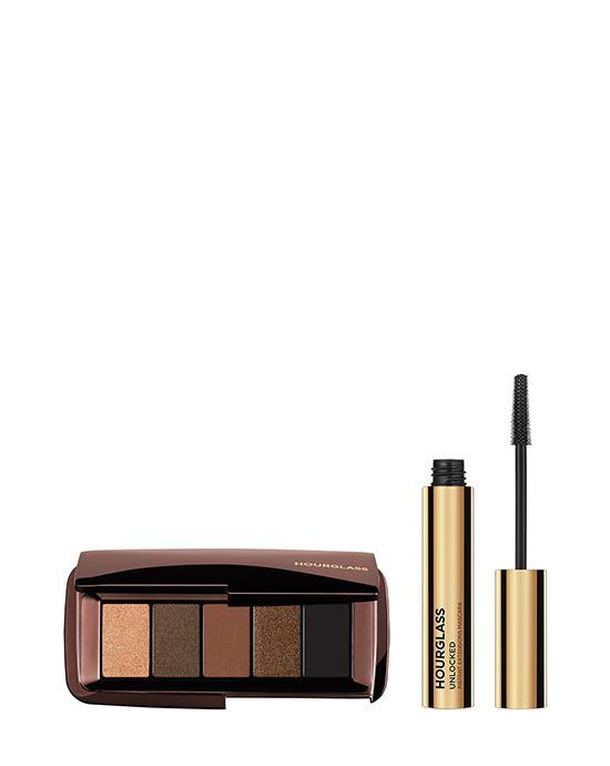Houglass Shimmering Bronze Eyeshadow and with eye mascara