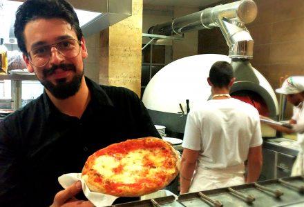 Pizza Fancilienne, Nunzio RIspolano