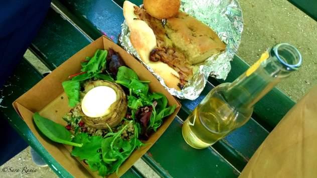 panie repas sur le pouce de l'epicerie Fine, ph Sara Rania