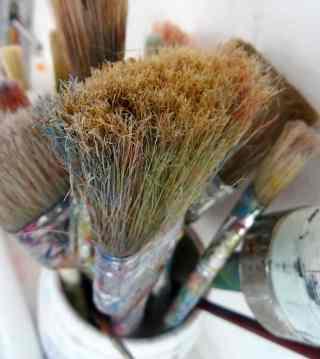 Mein Lieblingspinsel/ My favorite brush