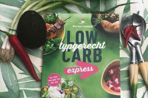 Abbildung des Buches LowCarb typgerecht express