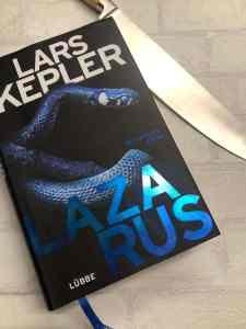 Lazarus von Lars Kepler