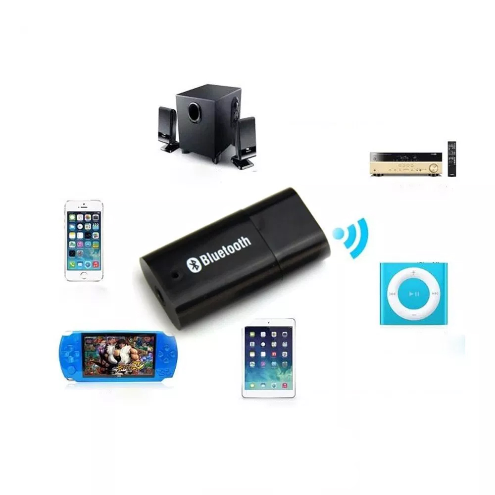 Receptor Bluetooth Recive Audio Adaptador Plug-in Usb