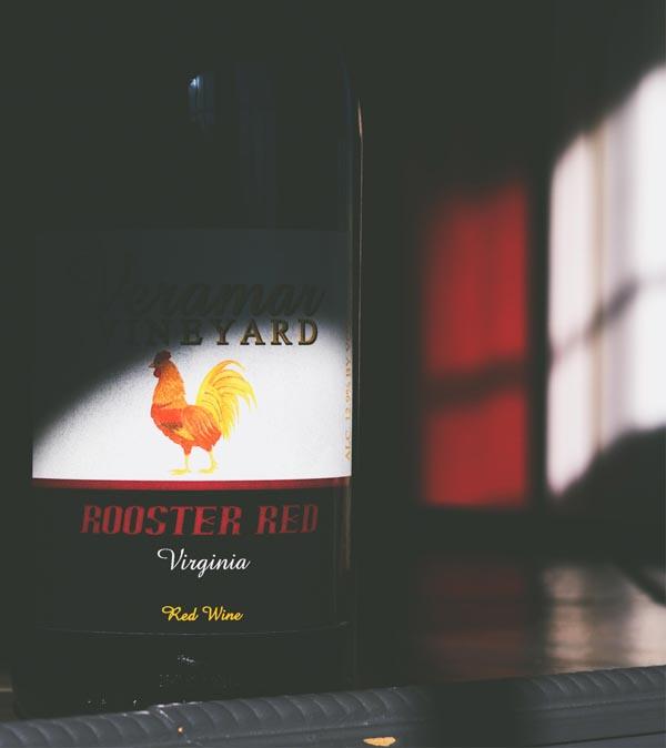 """NV """"Rooster Red"""" / bottle"""