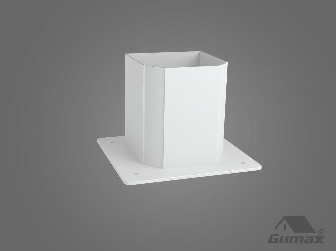 Gumax terrasoverkapping - staander klassiek mat creme