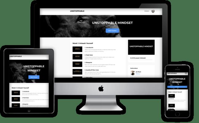 e-cursus Unstoppable Mindset
