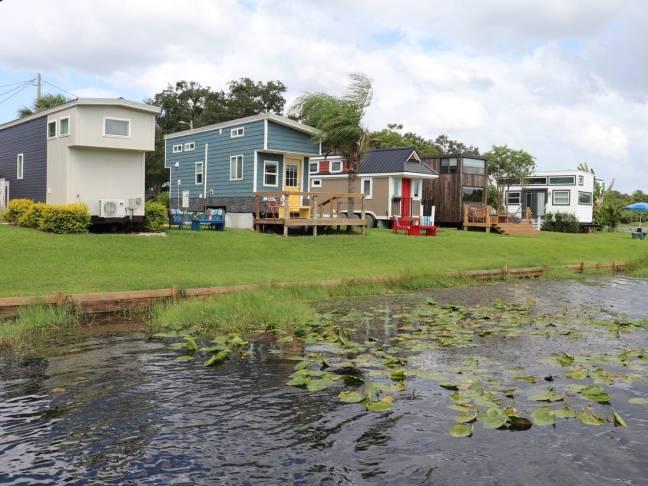 grond en woonlocatie tiny houses