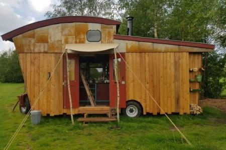tiny house te huur Drenthe