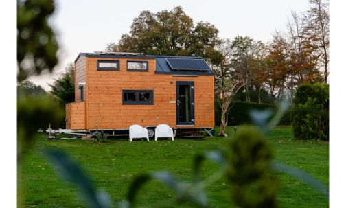 tiny house te huur