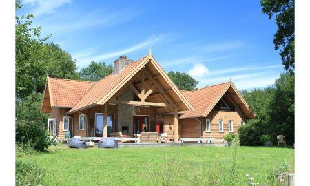 vakantiehuisje met sauna in Nederland
