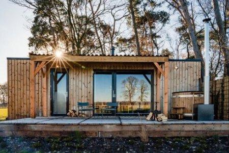 luxe tiny house met tiny hous Noord Brabant