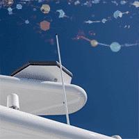 Kymeta flat panel antenna