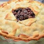 Blueberry Pie/ Vera's Cooking/ Verascooking.com/