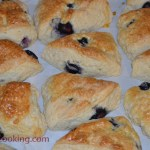 Blueberry Scones/ Vera's Cooking/ Verascooking.com/