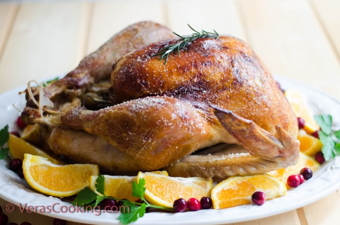 Roasted Turkey/ Vera's Cooking/ Verascooking.com/