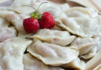 Pyrogies with Fruit (Вареники)/ Vera's Cooking/ Verascooking.com