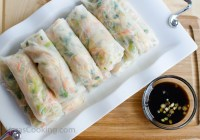 Asian Spring Rolls/ Vera's Cooking/ Verascooking.com/
