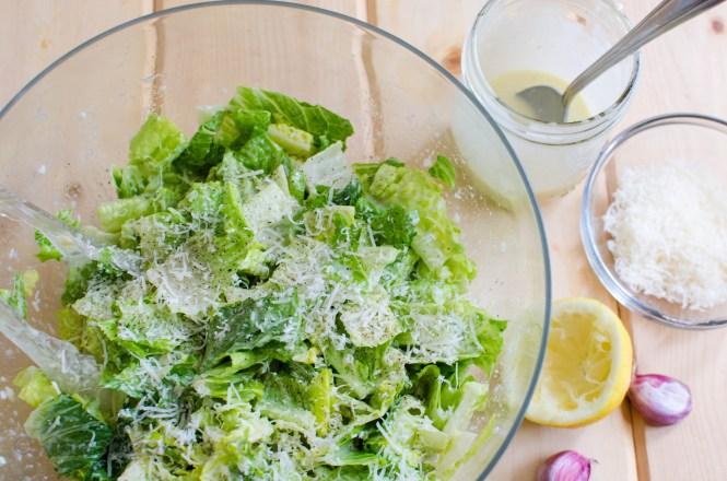 Caesar Salad Dressing/ Vera's Cooking/ Verascooking.com/