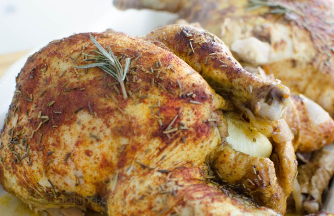 Slow Cooker Chicken/ Rotisserie Style Chicken/ Vera's Cooking/ Verascooking.com/