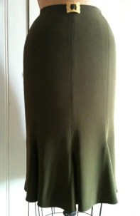 30's style Gored Skirt with 6 Godets- personal wardrobe