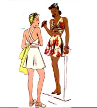 1940's Swimsuit pattern
