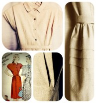 Dress from 40's Hollywood pattern