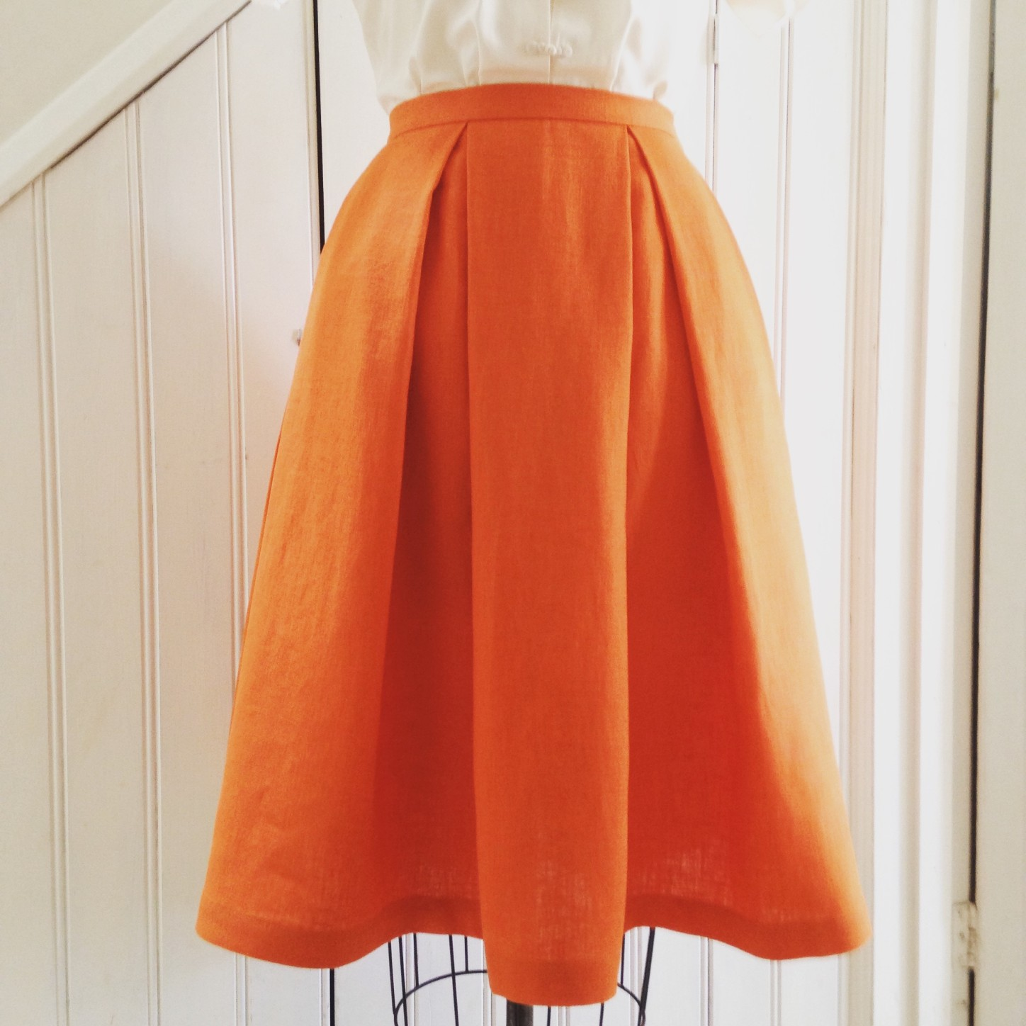 A Little Post About Making Box Pleated Skirts | sew VeraVenus
