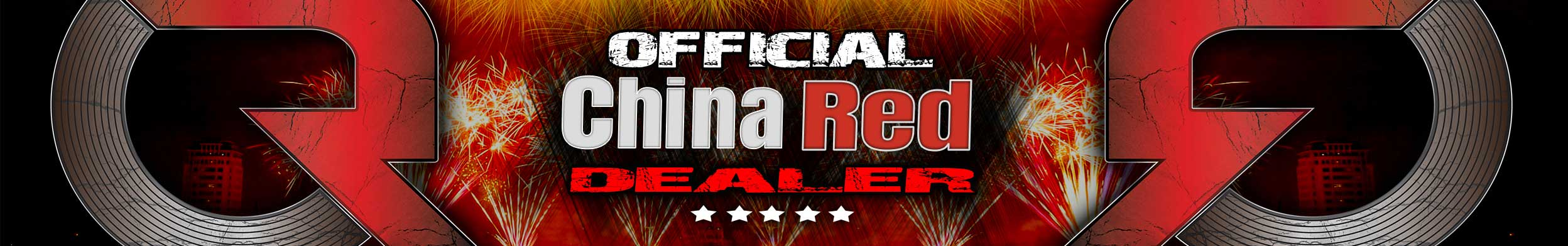 Verbakel Vuurwerk is official China Red Dealer