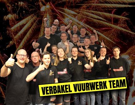 Het team van Verbakel Vuurwerk Pijnacker