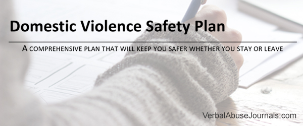 Safety planning for domestic violence and abuse victims and survivors is priority number one. Don't wait. Download this safety planning workbook now.
