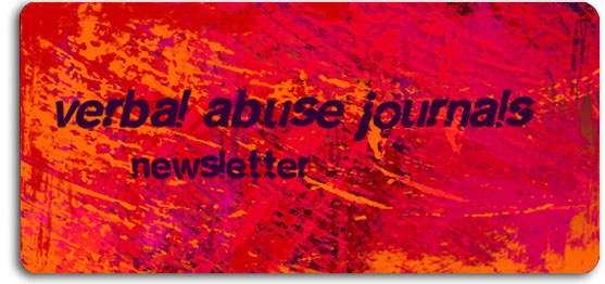 verbal abuse journals newsletter july 2012