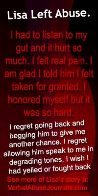 Leaving Abuse: Lisa's Story