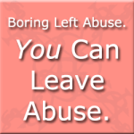 Boring's Story – Leaving Abuse