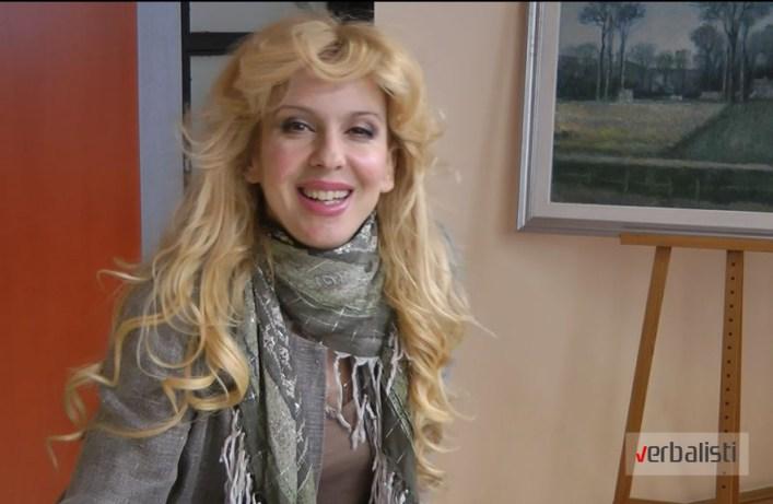 Glumica Ivana Mihic u emisiji Speak Your Mind