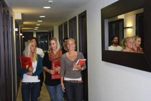 Polaznici španskog jezičkog programa u školi Don Quijote u Barseloni